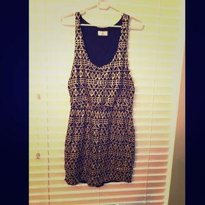 Black and gold Dolce Vita dress size L